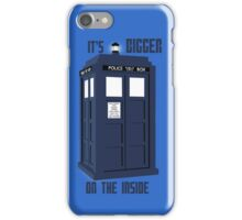 """""""It's bigger on the inside""""  iPhone Case/Skin"""