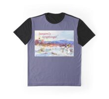 Season's Greetings from me to you! Graphic T-Shirt
