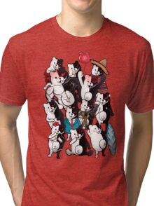 Monokuma portrait of wisdom Tri-blend T-Shirt