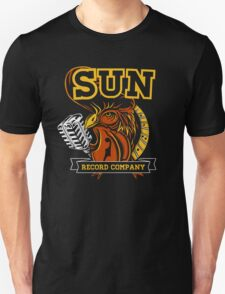 SUN RECORDS COMPANY : ROOSTER WITH MICROPHONE T-Shirt