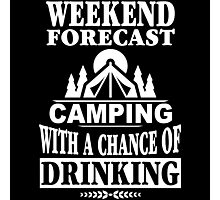 Weekend Forecast Photographic Print