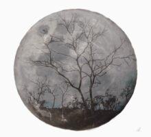 trees on the moon Baby Tee