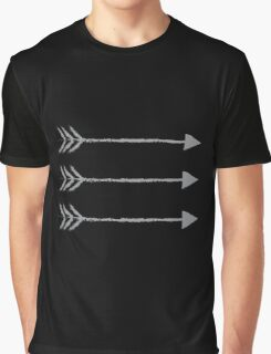 Three arrows pointing right Graphic T-Shirt