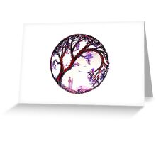 Love Makes the World Go Round - Trees Greeting Card