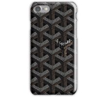 goyard logo iPhone Case/Skin