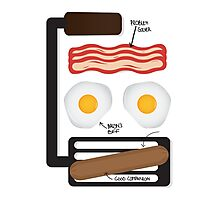 BACON & FRIENDS Photographic Print