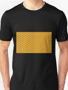 goyard yellow logo Unisex T-Shirt