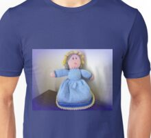 Hand Made knitted Doll  Unisex T-Shirt