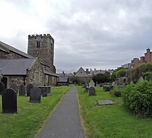 A Walk by St Mary's Church, Conwy by CreativeEm