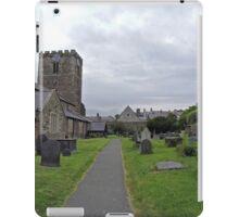 A Walk by St Mary's Church, Conwy iPad Case/Skin