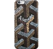 goyard skin logo iPhone Case/Skin