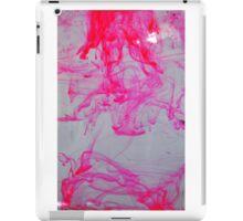Pink ink in water iPad Case/Skin