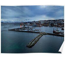 Tromso Harbour Poster