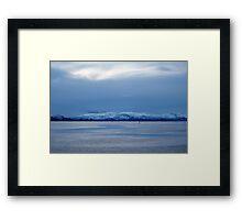 Island Passage Framed Print
