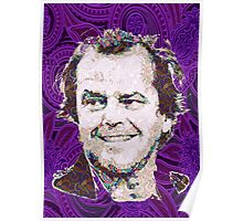 Jack Nicholson Psychedelic Poster