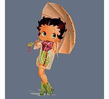 The Umbrella Girl Photographic Print
