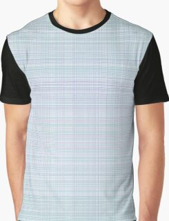 simple plaid seamless pastel pattern Graphic T-Shirt