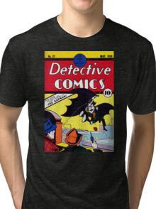 Detectives Comics Issue 27 Products | Batman First Appearence Tri-blend T-Shirt