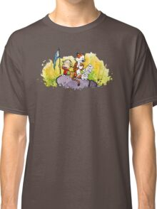 Calvin & Hobbes : Imagination Rules Classic T-Shirt