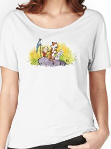Calvin & Hobbes : Imagination Rules Women's Relaxed Fit T-Shirt