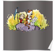 Calvin & Hobbes : Imagination Rules Poster