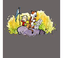 Calvin & Hobbes : Imagination Rules Photographic Print
