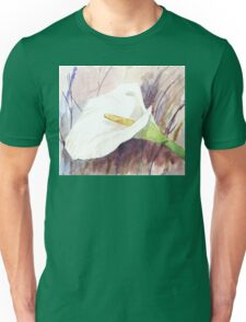ARUM LILY (Zantedeschia aethiopica) Unisex T-Shirt