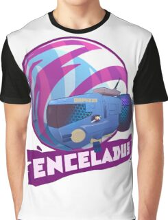 Enceladus Loaded for Space Bear! Graphic T-Shirt