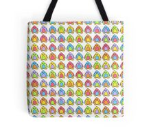 Rainbow Penguins Tote Bag