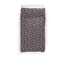 simple seamless doodle flower pink pattern Duvet Cover