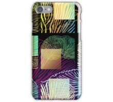 Black oyster mushroom square iPhone Case/Skin