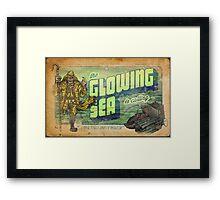 The Glowing Sea Framed Print