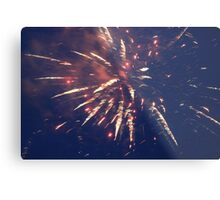 Firework. Metal Print