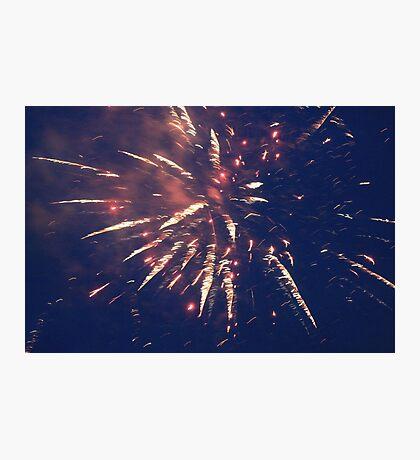 Firework. Photographic Print