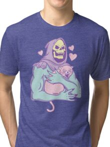 skeletor's cat Tri-blend T-Shirt