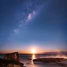 Moonrise under the Stars by Anton Gorlin