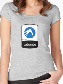 Lubuntu [HD] Women's Fitted Scoop T-Shirt