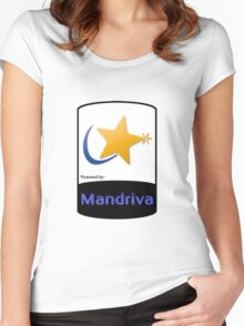 Mandriva [HD] Women's Fitted Scoop T-Shirt