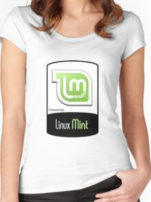 Linux MINT ! [HD] Women's Fitted Scoop T-Shirt