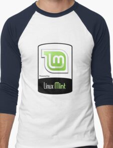 Linux MINT ! [HD] Men's Baseball ¾ T-Shirt