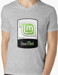 Linux MINT ! [HD] Mens V-Neck T-Shirt
