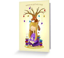 Afternoon Philosophy - LIMITED EDITION Greeting Card