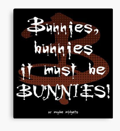 It Must Be Bunnies Canvas Print