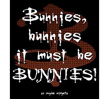 It Must Be Bunnies Photographic Print