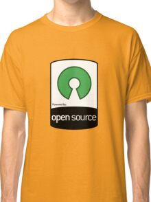 Powered by Open Source ! [HD] Classic T-Shirt