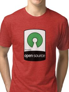 Powered by Open Source ! [HD] Tri-blend T-Shirt