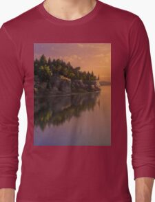 Stone Hill Landscape Long Sleeve T-Shirt