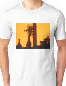 burning in sunset Unisex T-Shirt