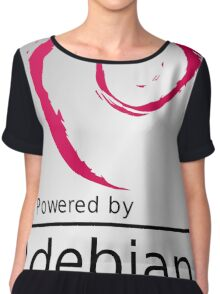 Powered by DEBIAN ! Chiffon Top