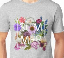 Floral and summer Graphic Design Unisex T-Shirt